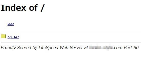 DNSがmixhostへ向いて、反映した状態だと、mixhostの何もデータの入っていない画面になります。